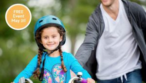 U of M child safety flyer image