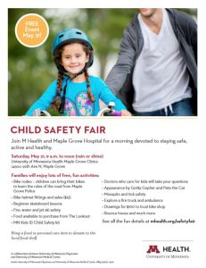 child safety flyer