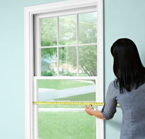 measure window